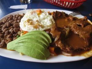 Beef dish, Ecuador