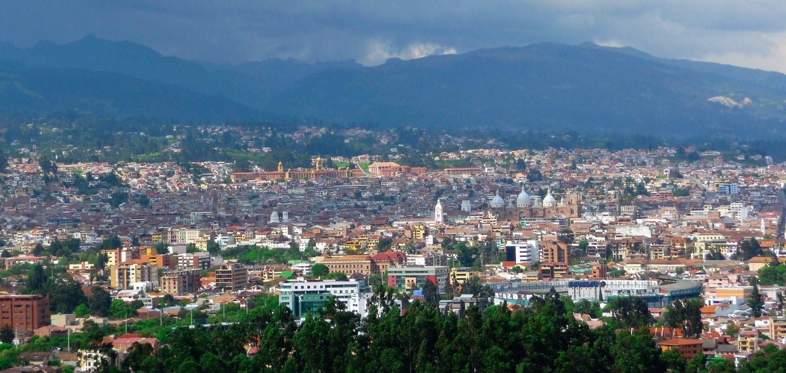 View of Cuenca, Ecuador
