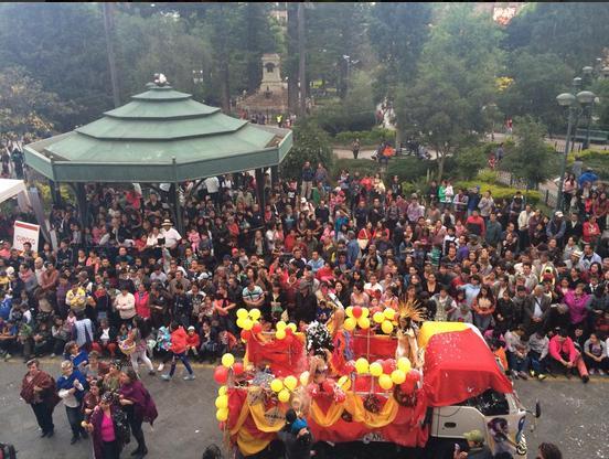 Carnaval - Cuenca, Ecuador